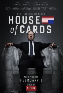 House of Cards. The second seasons of the Netflix show has gained significant Danish press attention.