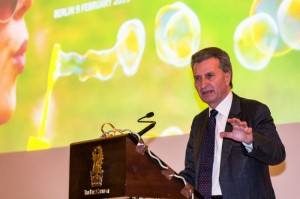 Günther H. Oettinger, EU Commissioner for Digital Economy and Society